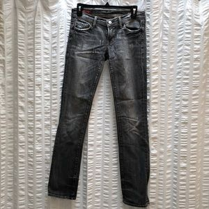 Citizens of humanity grey washed skinny jeans